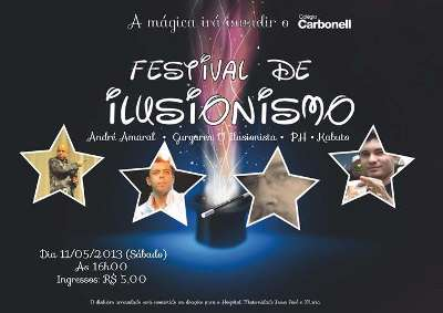 FESTIVAL DE ILUSIONISMO NO CARBONELL