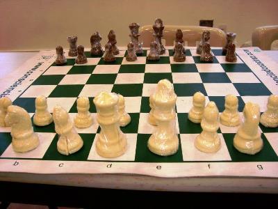 I Torneio de xadrez de chocolate no Carbonell