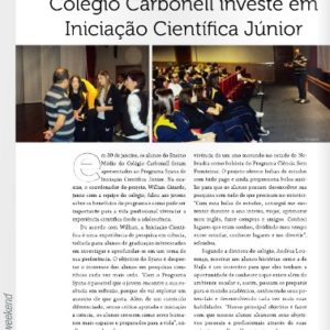 Carbonell na Revista Weekend