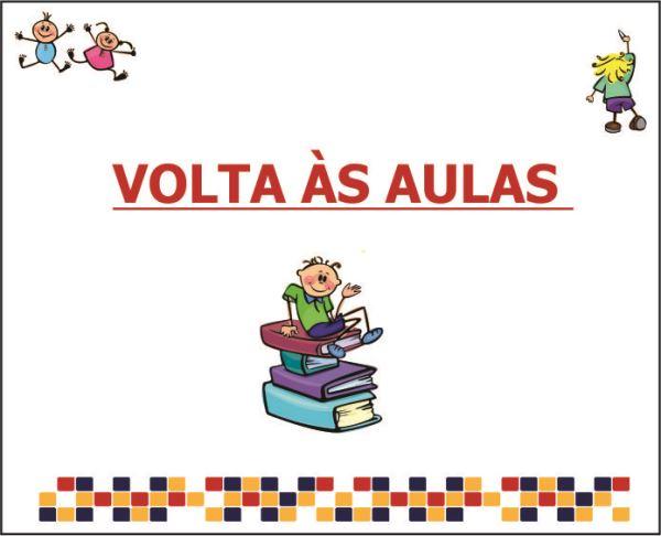 VOLTA ÀS AULAS!!!