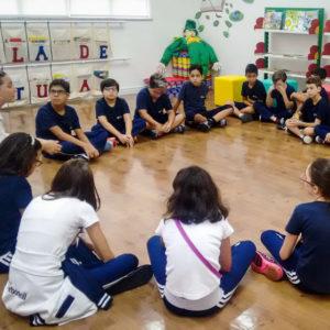 Alunos de 6º a 8º anos participam de projeto de estímulo à leitura