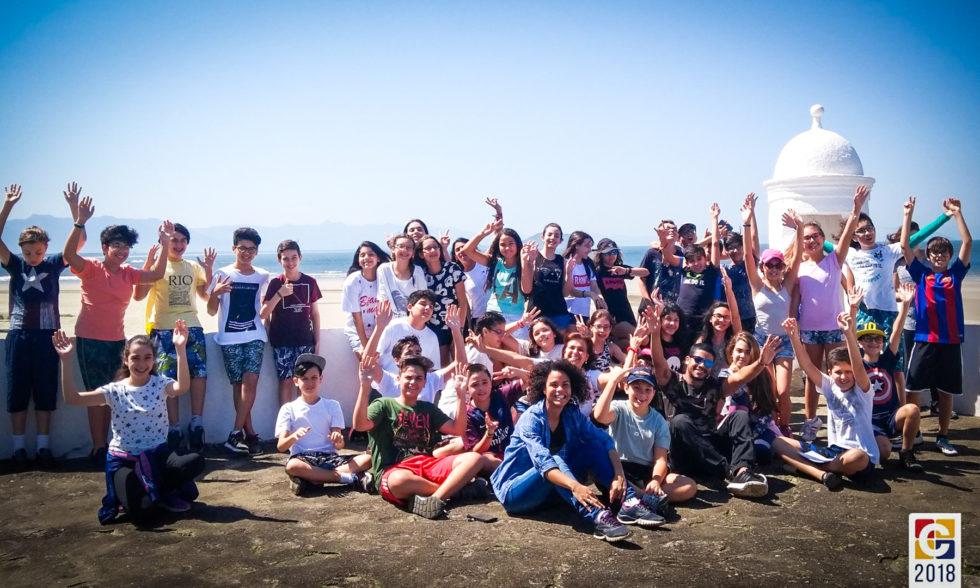 Bertioga, no litoral de São Paulo, foi o destino de um grupo de alunos do Carbonell em mais um estudo do meio