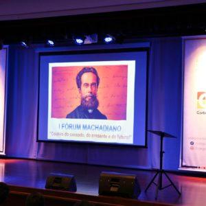 """""""Cousas do passado, do presente e do futuro"""": alunos e professores protagonizam 1º Fórum Machadiano"""