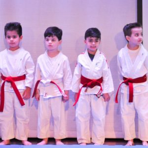 Festival Olímpico Carbonell: para um teatro cheio, crianças e jovens fazem lindas apresentações de judô