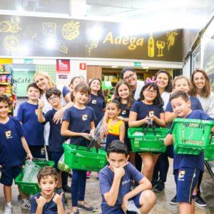 Visita ao Eco HortiFruti: alunos do Integral vão às compras em favor de uma alimentação saudável (parte 2)