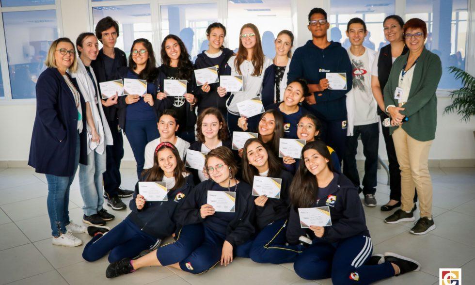 Conquistas: estudantes do Ensino Médio foram contemplados por bons desempenho e notas
