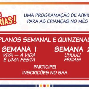 VAGAS LIMITADAS: Inscreva-se no Curso de Férias do Colégio Carbonell!