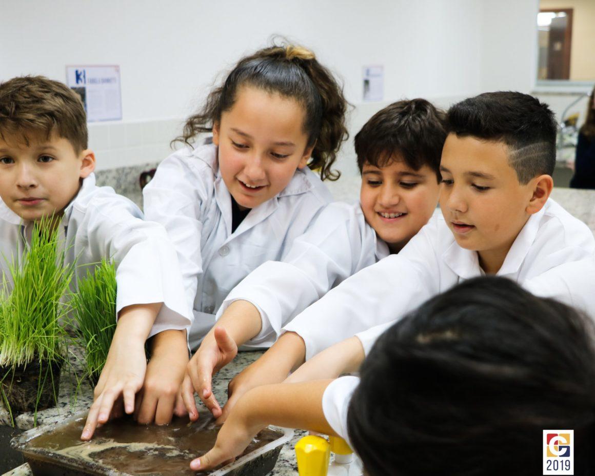 5° ano realiza experimentam, na prática, a importância da Mata Ciliar para o Meio Ambiente