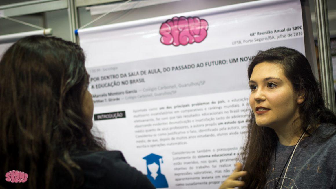 Syans: confira todas as pesquisas apresentadas desde 2013 por nossos alunos nas Reuniões Anuais da SBPC