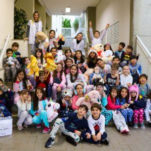 Crianças do 2° ano prepararam uma verdadeira festa do pijama para finalização de livro paradidático