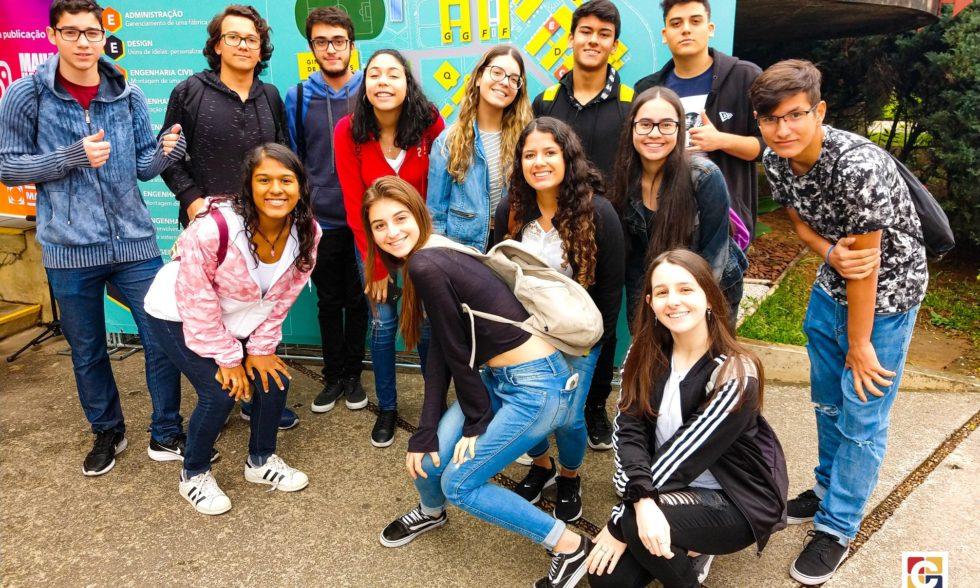 """Jovens do Ensino Médio interessados em áreas da administração, design e engenharia visitam """"Mauá Hands On"""""""