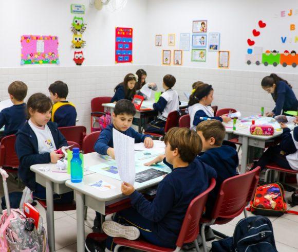 Para o mundo: de forma lúdica e descontraída, estudantes do Ensino Fundamental aprenderam sobre os continentes