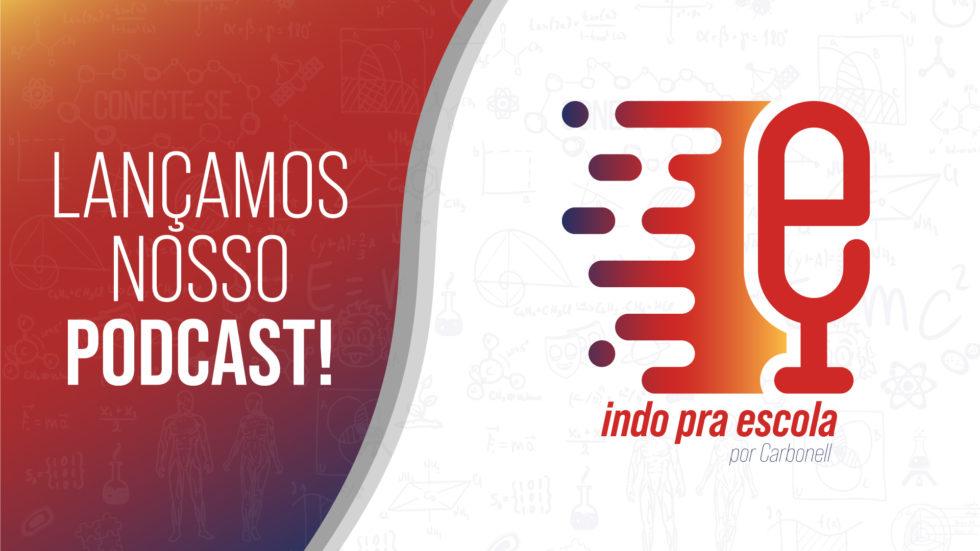 Lançamos nosso podcast! Episódios da primeira temporada serão lançados a cada domingo deste mês