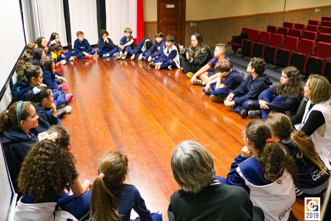 Coordenadoras pedagógicas e estudantes de 5° ano debatem sobre os desafios da passagem ao Ensino Fundamental 2