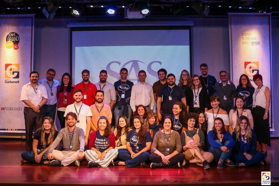 Consultores do SAS Plataforma de Educação visitam Colégio Carbonell e consolidam parceria de sucesso
