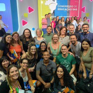 Capacitação: mais de 20 representantes do Colégio Carbonell participam do Congresso de Educação SAS