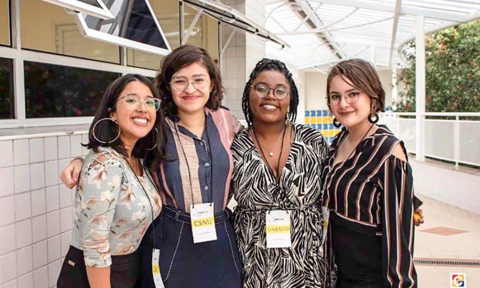 Equipe do Carbonell Model United Nation (CMUN) participa do programa de simulação do SIBEÁ