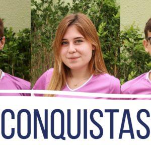 Conquistas: poucos meses depois da despedida, estudantes da Turma 2019 começam a realizar seus sonhos