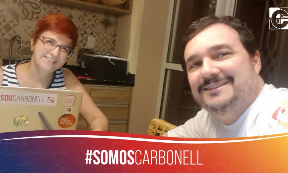 #SomosCarbonell: Mantenedora Andréa Lourenço grava mensagem de agradecimento às famílias e #EquipeCarbonell