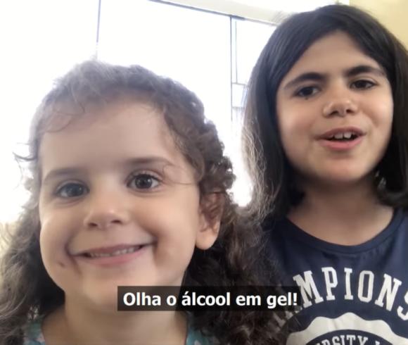 Em vídeo musical, irmãs do Colégio Carbonell animam a quarentena e dão dica para combate ao Novo Coronavírus