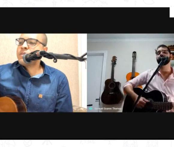 Especial das Mães: reveja a apresentação feita ao vivo por nossos Professores Rafael Monteiro e Thomaz Samuel