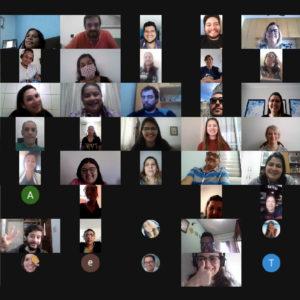 Para definição dos próximos passos, Direção se reencontra em reunião online com mais de 70 colaboradores