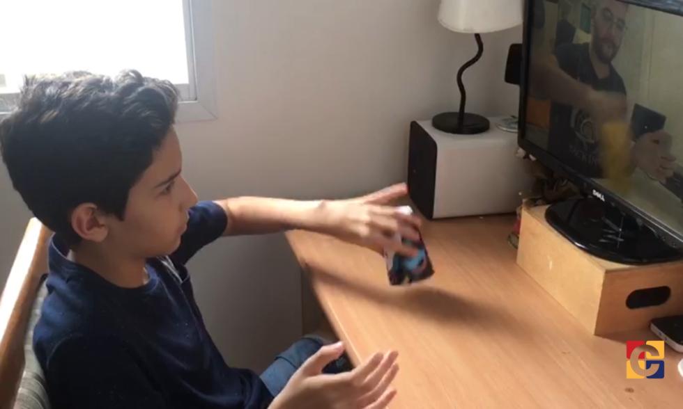 Professor de Música usa aula virtual para reforçar a tradição do hino nacional no Colégio Carbonell