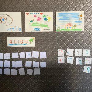 Aluno do Colégio Carbonell decora casa com desenhos artísticos feitos em sala de aula on-line