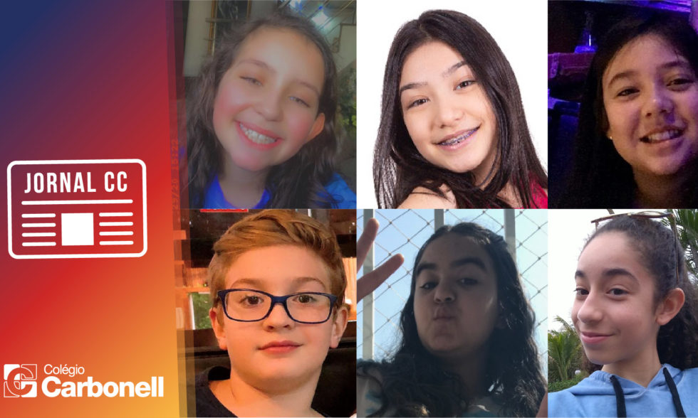Jornal CC: por iniciativa própria, alunos de 6º ano produzem conteúdos à comunidade escolar; conheça