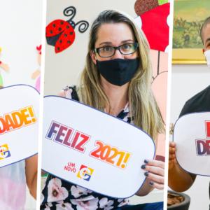De volta! Equipe de Professores do Colégio Carbonell retorna de férias para novos desafios em 2021.
