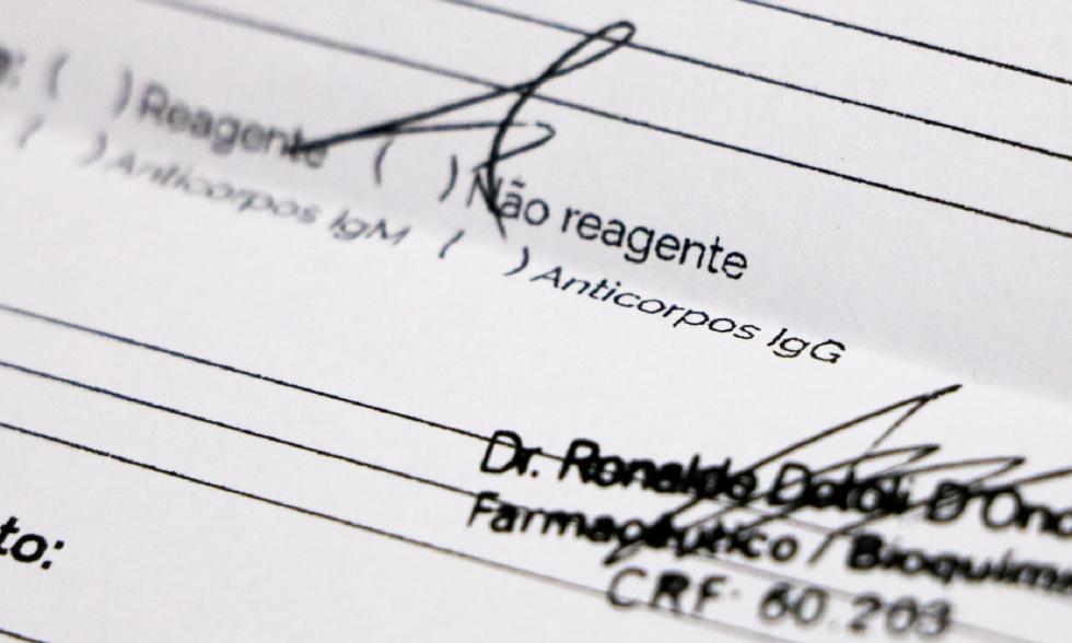 Negativo: resultados da testagem informam que não há casos de COVID-19 detectados no Colégio Carbonell.