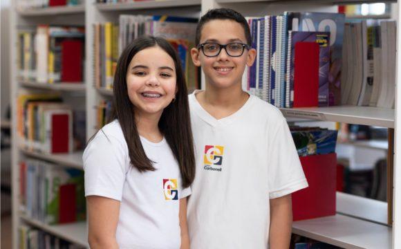 Colégio Carbonell, Homepage, Tabs, Ensino Fundamental (Anos Finais)